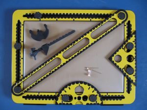 All components of the TactiPad