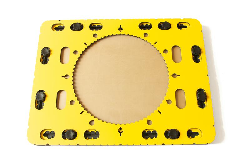 CircleFrame on the TactiPad
