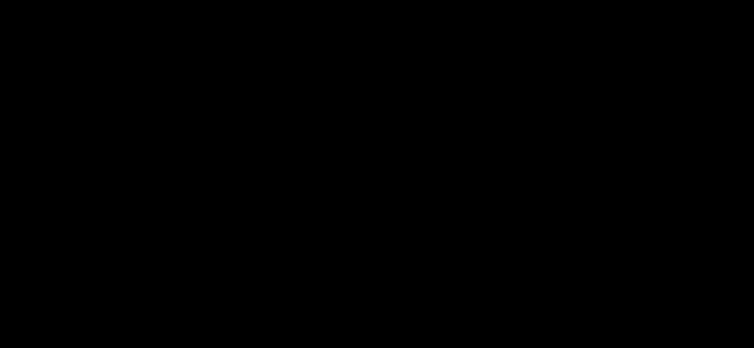 Molecular structure of dopamine