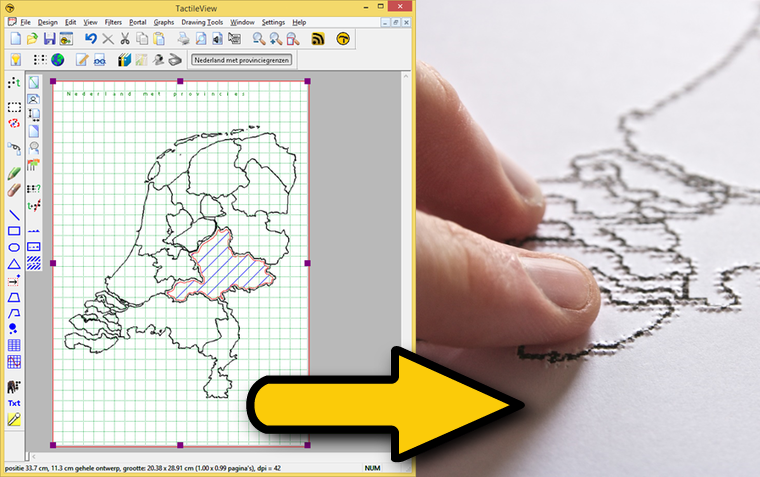TactileView software for tactile graphics