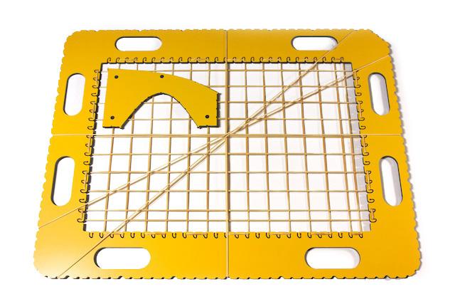 TactiPad GraphGrid rubber bands
