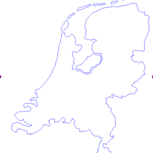 Alt Text Map of the Netherlands